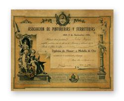 Diploma Casa Figini